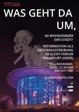 Selbstüberprüfung unter reformatorischen Vorzeichen - das Kleist Forum wagt es.